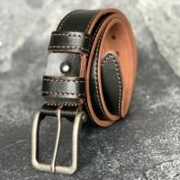 Кожаный ремень из натуральной кожи «Кантри»