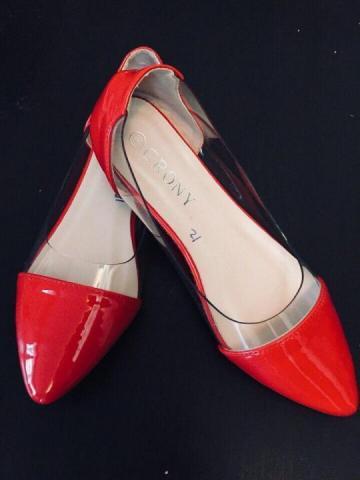 Балетки красные - 1